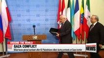 Israel faces global backlash after 60 Palestinians killed during protests at Gaza border