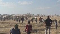 """Palestinos conmemoran 70 años de """"Nakba continua"""" con duelo y huelga"""