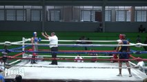 Josue Lopez VS Rafael Tinoco - Boxeo Amteur - Miercoles de Boxeo