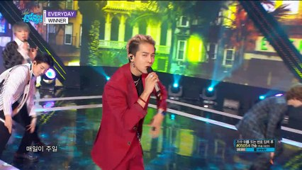 【TVPP】WINNER - EVERYDAY, 위너 - 매일 @Showmusiccore