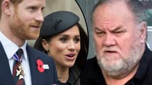 Meghan Markle's Dad Thomas Markle Will Not Walk Her Down The Aisle | Hollywood Buzz