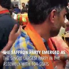 Karnataka: BJP's Yeddyurappa stakes claim to form govt as Congress-JD(S) allege horsetrading