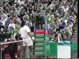 Tonterias en partido de tenis
