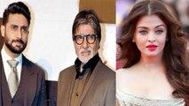 Aishwarya Rai Bachchan not following Abhishek Bachchan & Amitabh Bachchan on INSTAGRAM । FilmiBeat