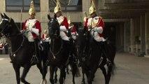 Nozze reali, i preparativi della cavalleria di sua maestà