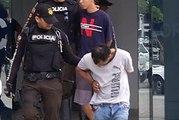 Guayaquil: tres sujetos fueron capturados al intentar robar las mochilas de estudiantes al salir de clases