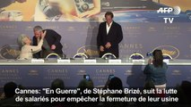 """Cannes: """"En Guerre"""", de vrais syndicalistes pour coller au réel"""