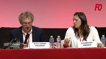 Intervention Jean-Pierre Gilquin (FO Isère) Congrès Lille