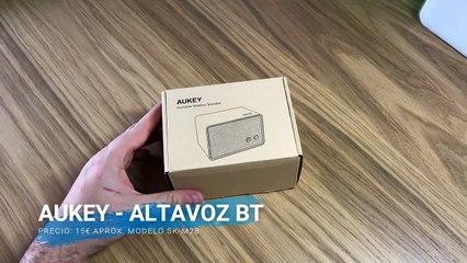 Aukey - Altavoz BT 3W SK-M28 // Unboxing + Review en Español