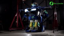 Ces ingénieurs ont fabriqué un transformers plus vrai que nature