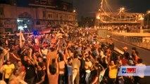 در حالی که نتایج نهایی انتخابات پارلمانی عراق تا حال اعلام نشده است، اما صدها تن از طرفداران مقتدی الصدر، عالم شیعه مذهب عراقی، در جاده های بغداد از اعلام نتایج