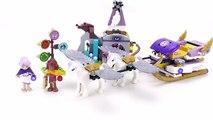 Lego Elves 41077 Aira´s Pegasus Sleigh / Airas Pegasus Schlitten - Lego Speed Build Review