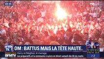 Au Vélodrome, des supporters marseillais fiers de leurs joueurs malgré la défaite