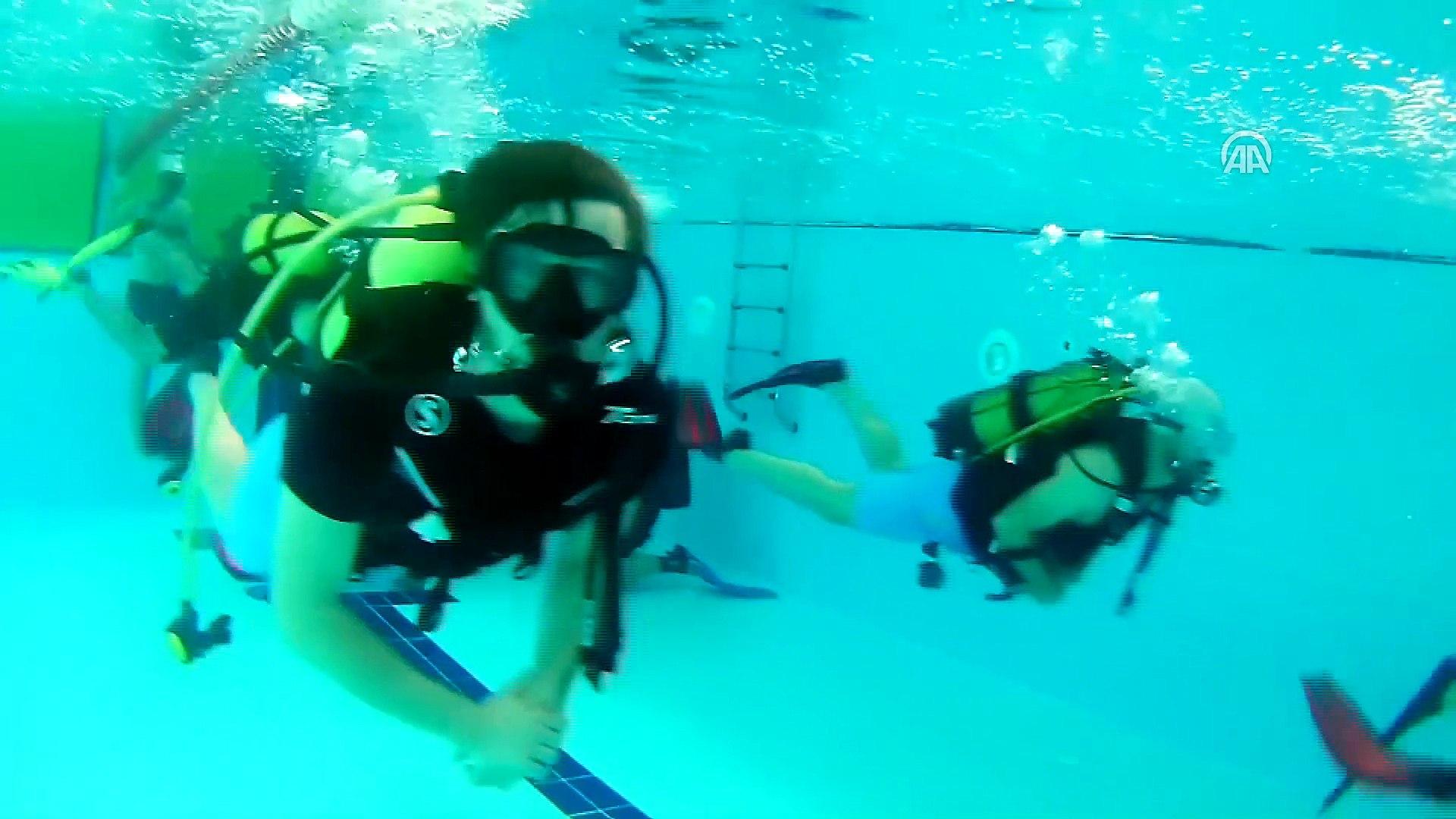 Diyarbakırlı 200 gencin dalış hayali gerçek oldu