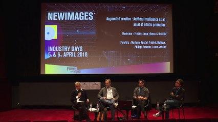 Création augmentée : l'IA au secours de la production artistique | Table ronde VF