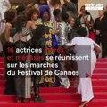 16 actrices noires et métisses se réunissent sur les marches du Festival de Cannes pour dénoncer les clichés racistes dans l'industrie du cinéma