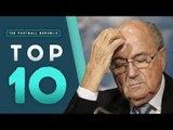 Top 10 Longest Football Bans! | Sepp Blatter, Suarez, Maradona and more!