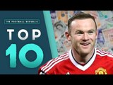 Top 10 HIGHEST Paid Footballers! | Teixera, Rooney and more!