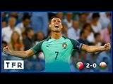 PORTUGAL 2-0 WALES | GOALS: RONALDO, NANI | EURO 2016 SEMI-FINAL TFR LIVE HIGHLIGHTS!