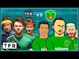 TFR FC vs 442oons FC Penalty Shoot Out | Messi, Ronaldo, Zlatan, Muller goals