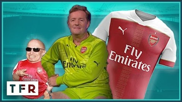 ARSENAL FANS FALL FOR FAKE CHAMPIONS LEAGUE SHIRT!! -  Comedy Short #3