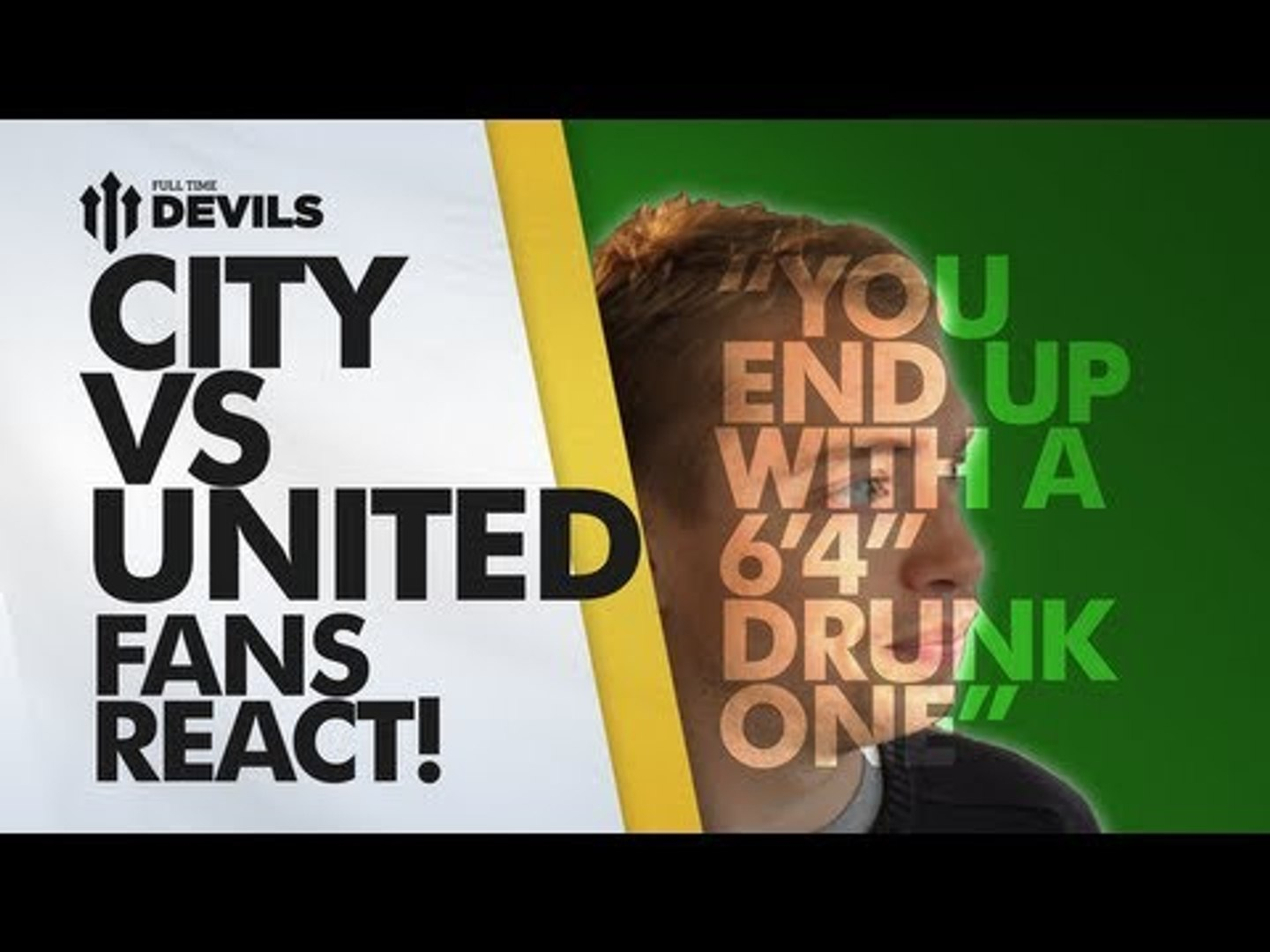 What Went Wrong? Fan Tells Moyes! | Manchester City vs Manchester United 4-1 | DEVILS