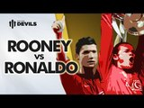 Rooney Vs Ronaldo: Who Is The Greatest? | Manchester United