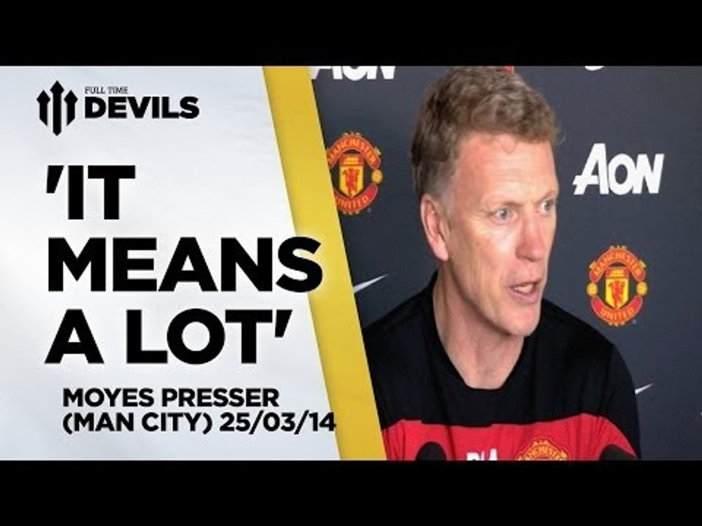 'Derby Means A Lot' | Manchester United vs Manchester City | PRESS CONFERENCE