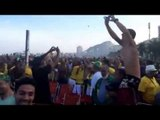 Brazil Fans Celebrate on Copacabana | Brazil 1-1 Chile (3-2 pens) | World Cup Brazil 2014