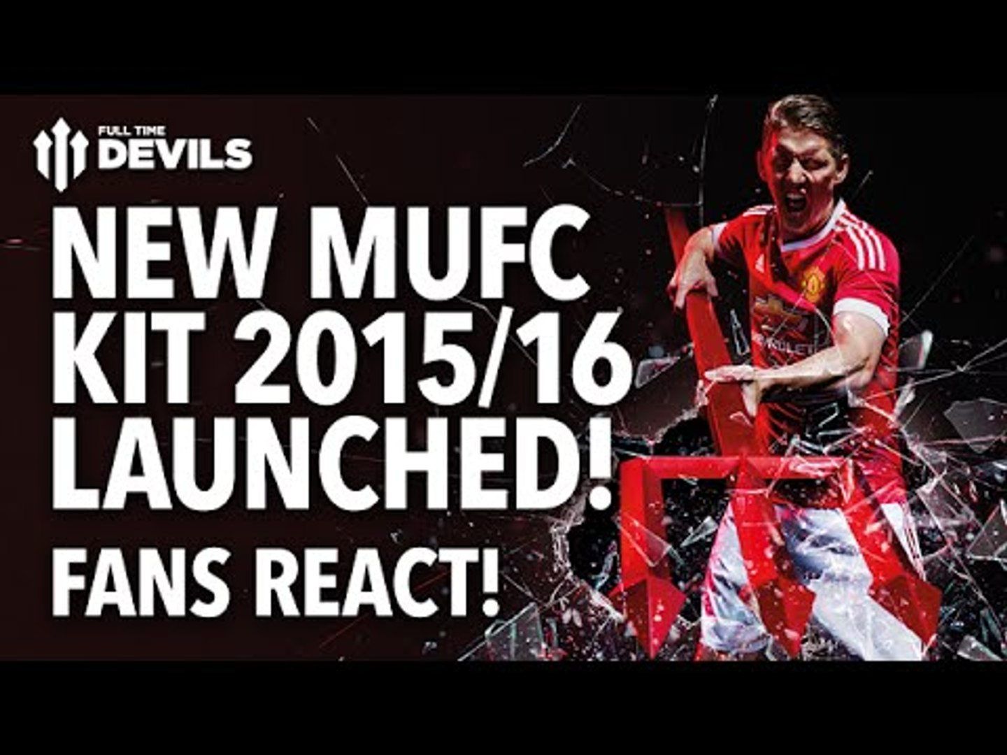 New United Kit 2015/16 Launched! Fans React! | Manchester United | #BeTheDifference