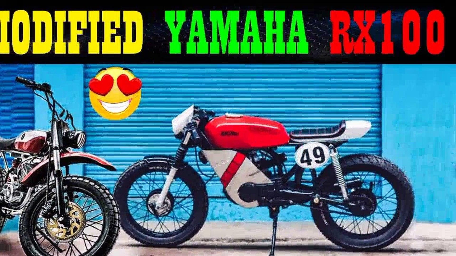 Modified Yamaha Rx100