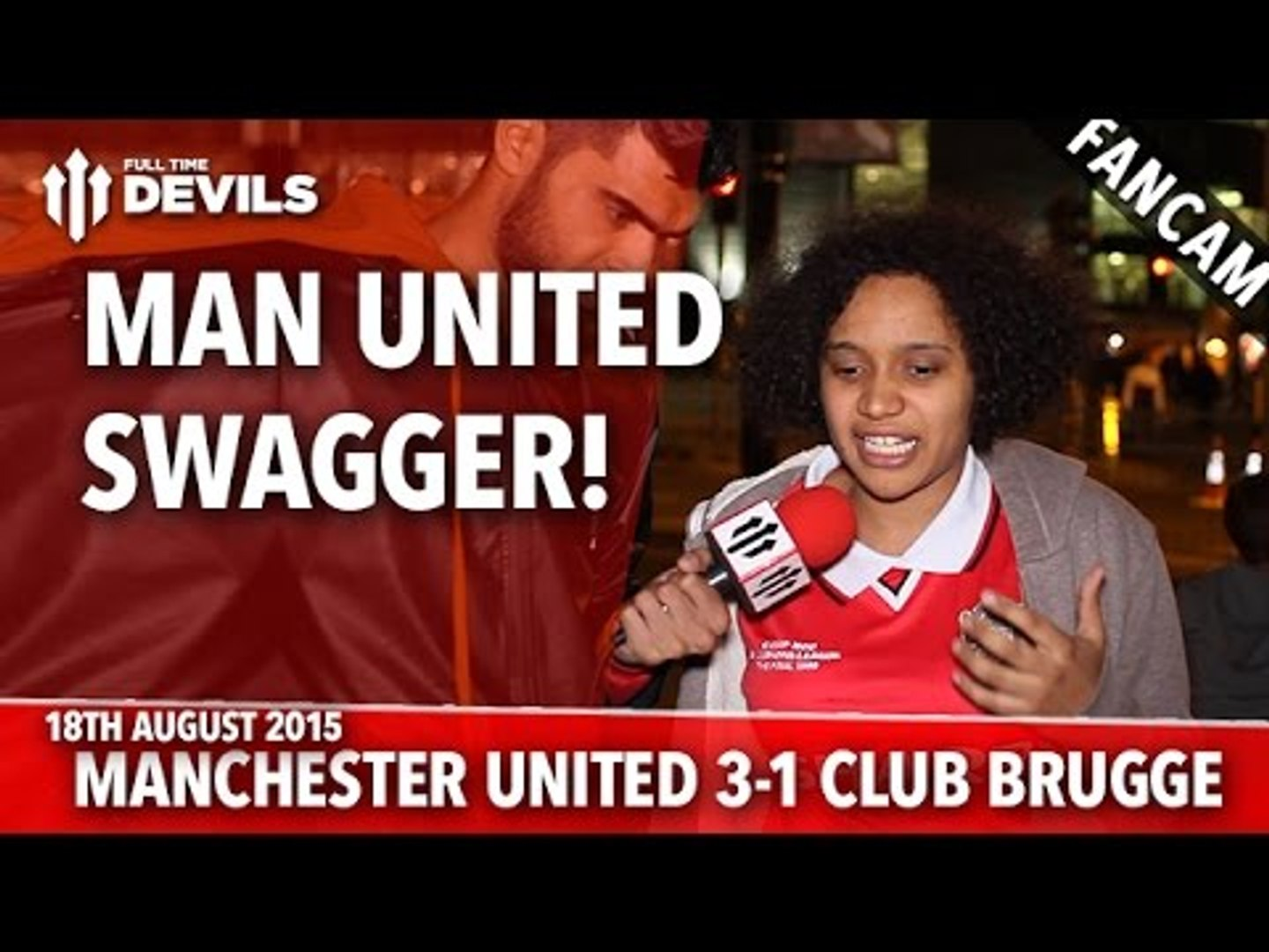 Man United Swagger! | Manchester United 3-1 Club Brugge | FANCAM