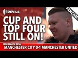 FA Cup And Top Four Still On! | Manchester City 0-1 Manchester United | FANCAM