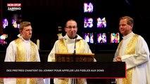 Des prêtres bretons chantent du Johnny Hallyday pour appeler aux dons (Vidéo)