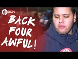 Back Four Awful! | Hull City 2-1 Manchester United | FANCAM