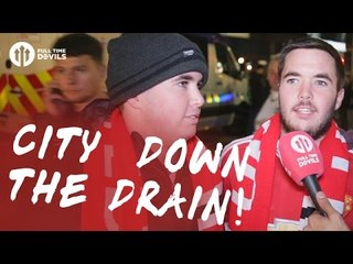 city going down the drain manchester united 1 0 manchester city fancam