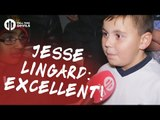 Jesse Lingard: Excellent!   Manchester United 4-1 Fenerbahçe   FANCAM