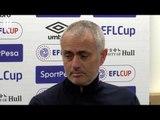 Jose Mourinho: WE DIDN'T LOSE! Wigan Full Press Conference