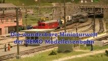 Die wunderbare Miniaturwelt der BEMO Modelleisenbahn - Vier faszinierende Schauanlagen in Spur H0m - Ein Film von Pennula über digitale Modelleisenbahnen sowie Modellbahnen und Modellbau der Eisenbahn