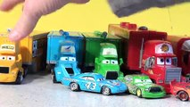 Disney Pixar Cars New Hauler Launching with Lightning McQueen, Mack , Mater and the Hot Wheels Launc