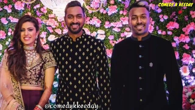 Hardik pandya dance in Brother Krunal pandya and Pankhuri sharma marriage _ Funny video