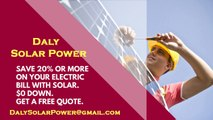 Affordable Solar Energy Daly CA - Daly Solar Energy Costs