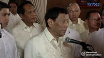 Duterte denies having hand in Serreno ousting, claims Calida is related to the Marcoses