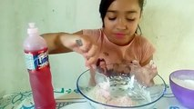 Como fazer massinha geleca com 2 ingredientes (geleca different with two ingredients) com leticia
