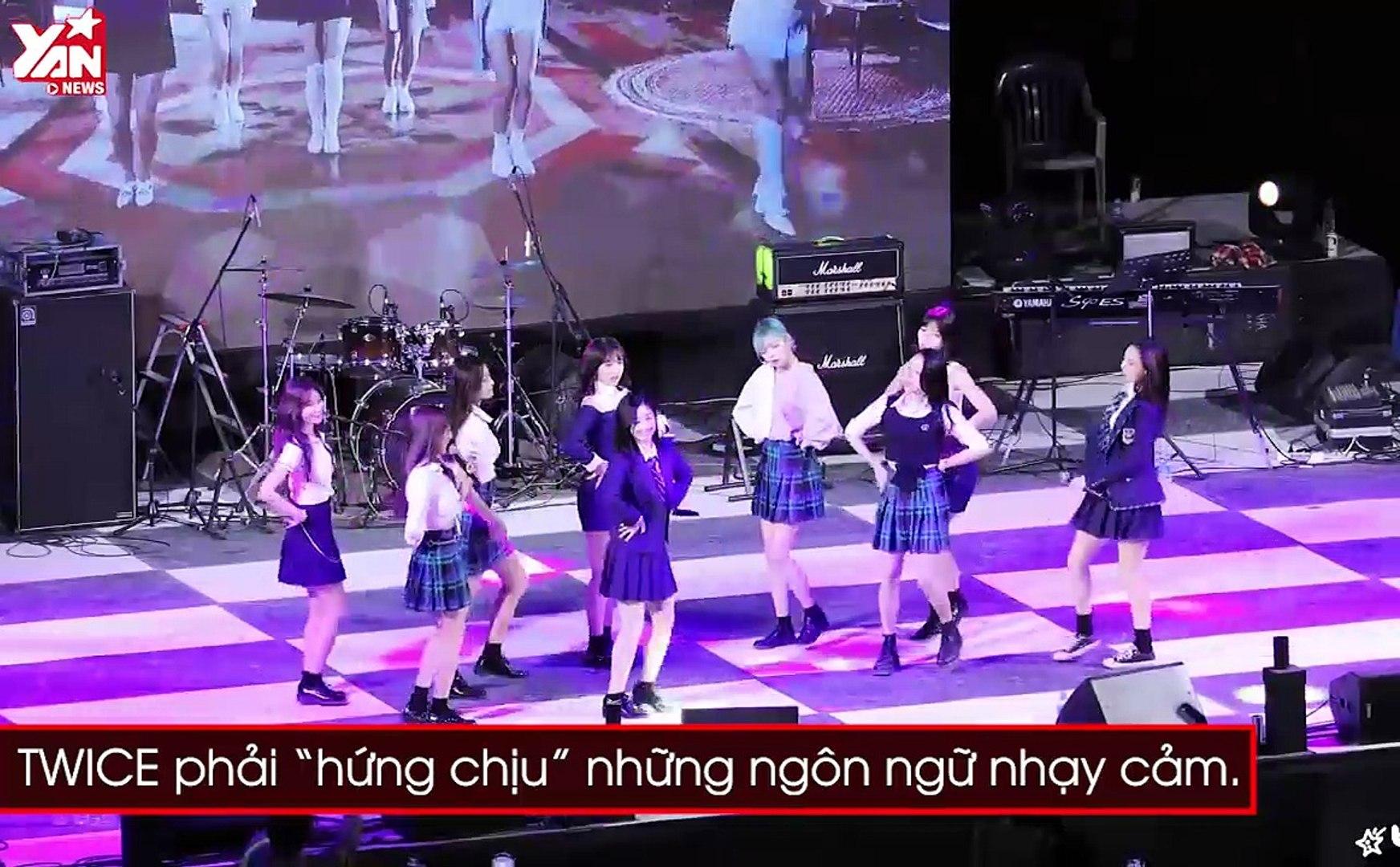 Idol nữ và những sự cố xảy ra trên sân khấu: Người nuốt phải bọ, người