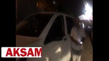 İstanbul�da taksiciler Uber sürücüsünü darp etti