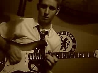 Electric guitar jam out!