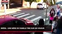 Brésil : Une mère de famille tire sur un voleur armé devant une école (vidéo)