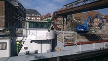 Tournai: Démolition du pont à ponts suite et fin