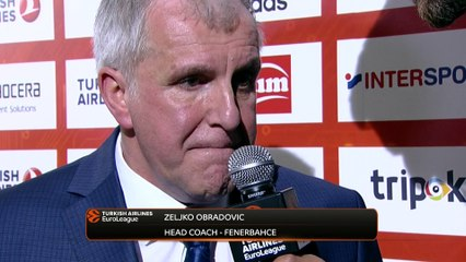 Post-game Interview: Coach Obradovic, Fenerbahce